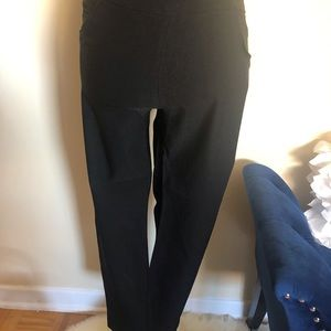 JULES& LEOPOLD black stretch Capris